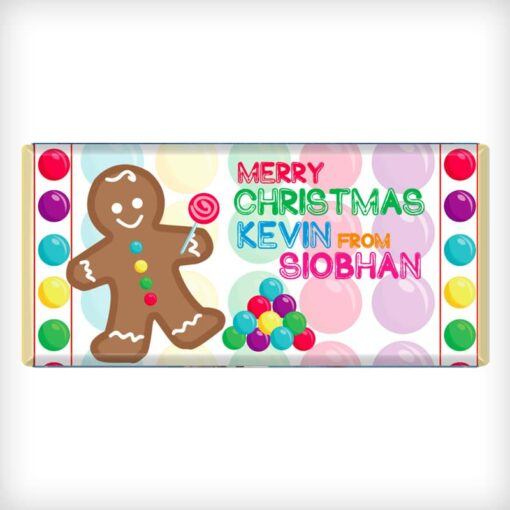 Gingerbread man and other colorful candies!