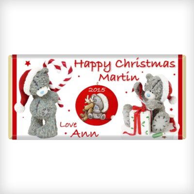 Tatty Teddy Christmas Chocolate Bar