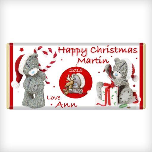 Tatty Teddy Christmas Chocolate Bar