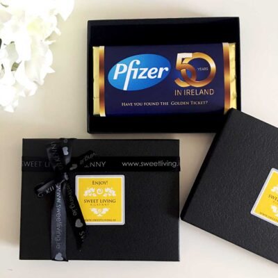 custom corporate gifting chocolate in a gift box