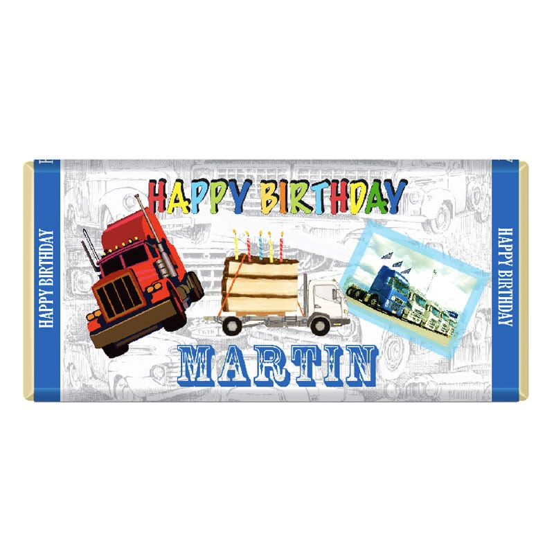 Custom Birthday Chocolate Bar