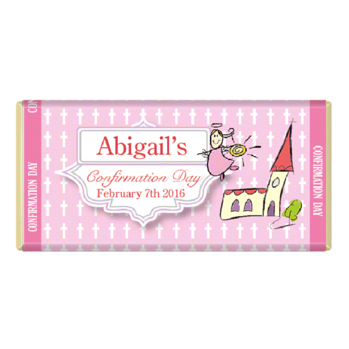 Communion Confirmation Personalised Chocolate Bar