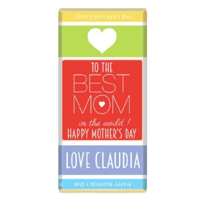 Mothers Day Personalised Chocolate Bar