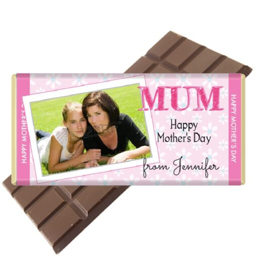 Photo Chocolate Bar Mothers Day