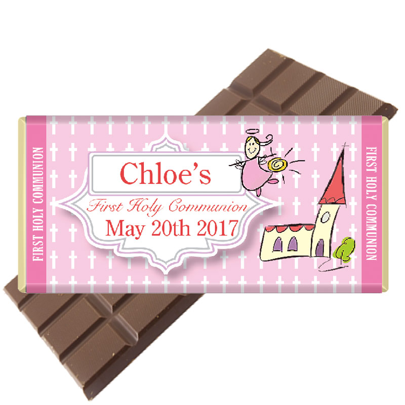 Personalised-Communion-Chocolate Bar