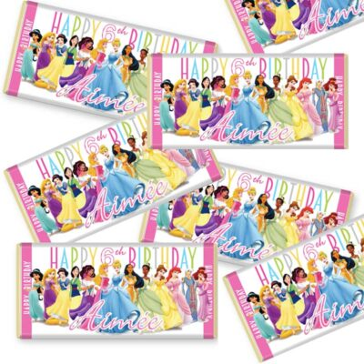 Disney Princess Small Chocolate Bar Packs
