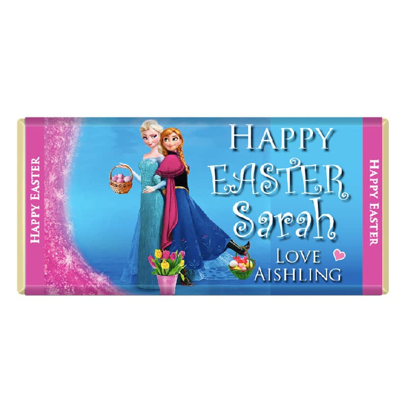 Easter Personalised Chocolate Frozen