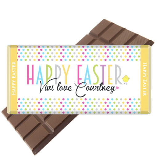 Easter-Chocolate-Bars Personalised