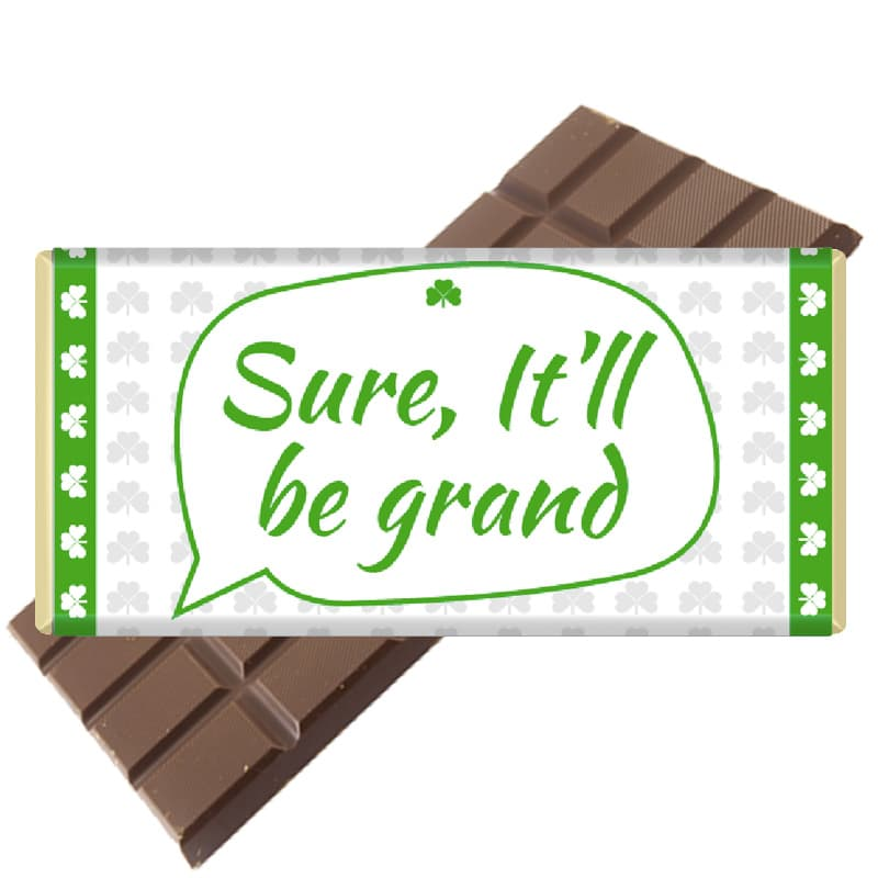 Irish Sayings Chocolate Bars