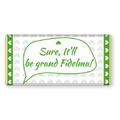 Irish Sayings Chocolate Bar Personalised