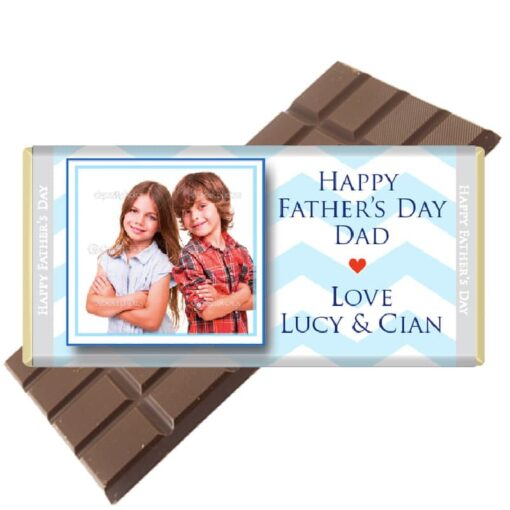 Choose your own photo Fathers Day Chocolate Ba
