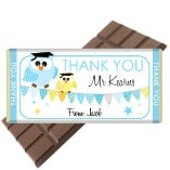 2 Teacher-Bar-Owl-Blue-Chocolate Bar