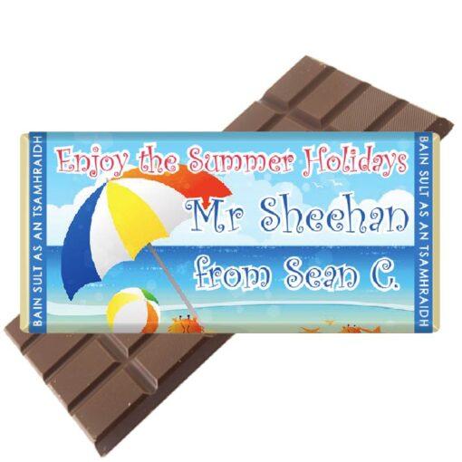 4 Teacher Umbrella Chocolate Bar