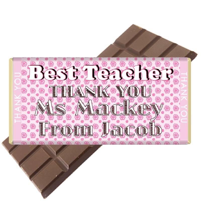 7 Teacher-Bar-Pink-Pattern-Chocolate Bar