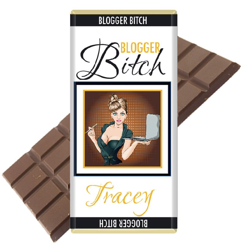 Blogger Bitch Personalised Chocolate Bar