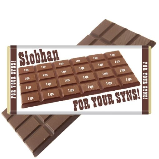 For your syns chocolate bar