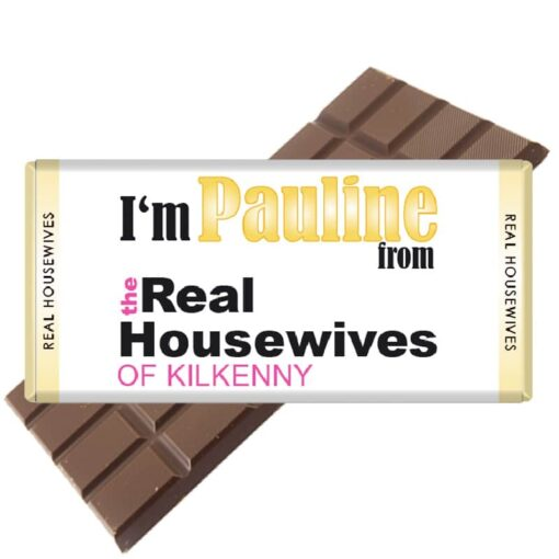 Real Housewives Chocolate Bar Personalised