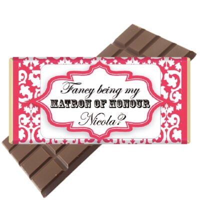 Matron of Honour Chocolate bar
