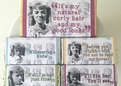 Nellie Oleson Chocolate Bars