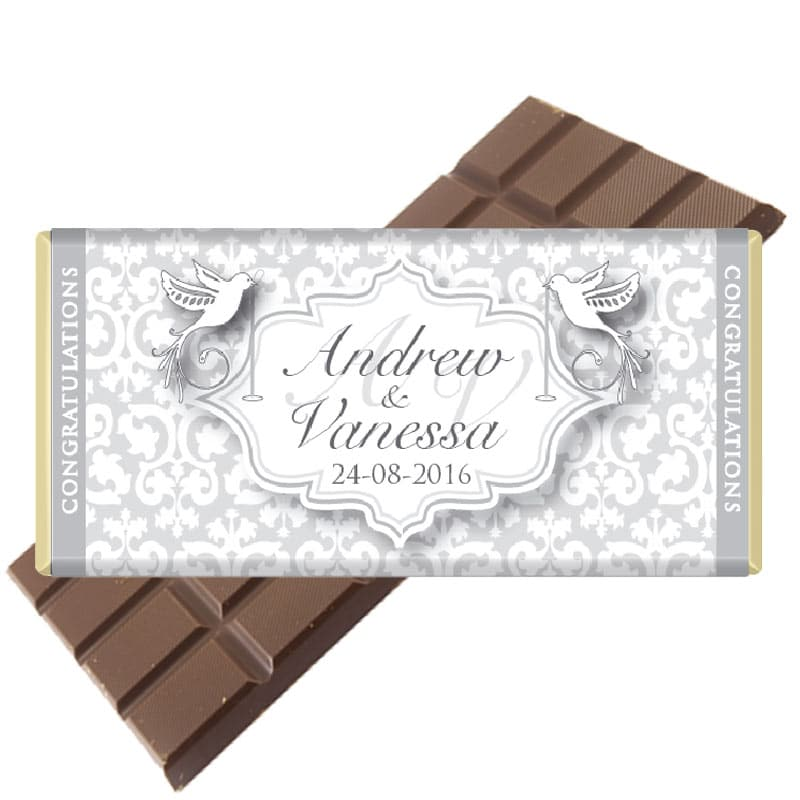 Wedding Personalised Chocolate Bar