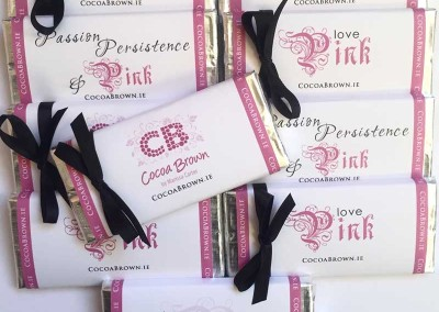 Love Pink Chocolate Bar