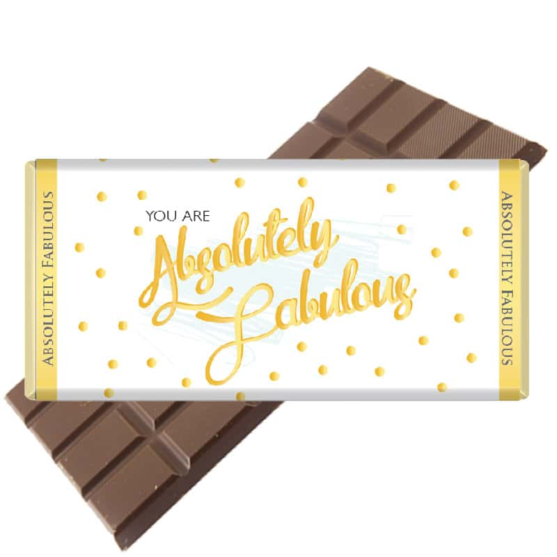 Absol-Fab-non-personalised Chocolate Bar