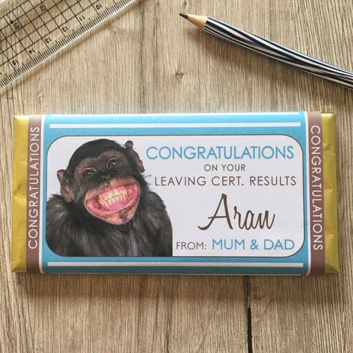Leaving Cert Monkey Chocolate Bar