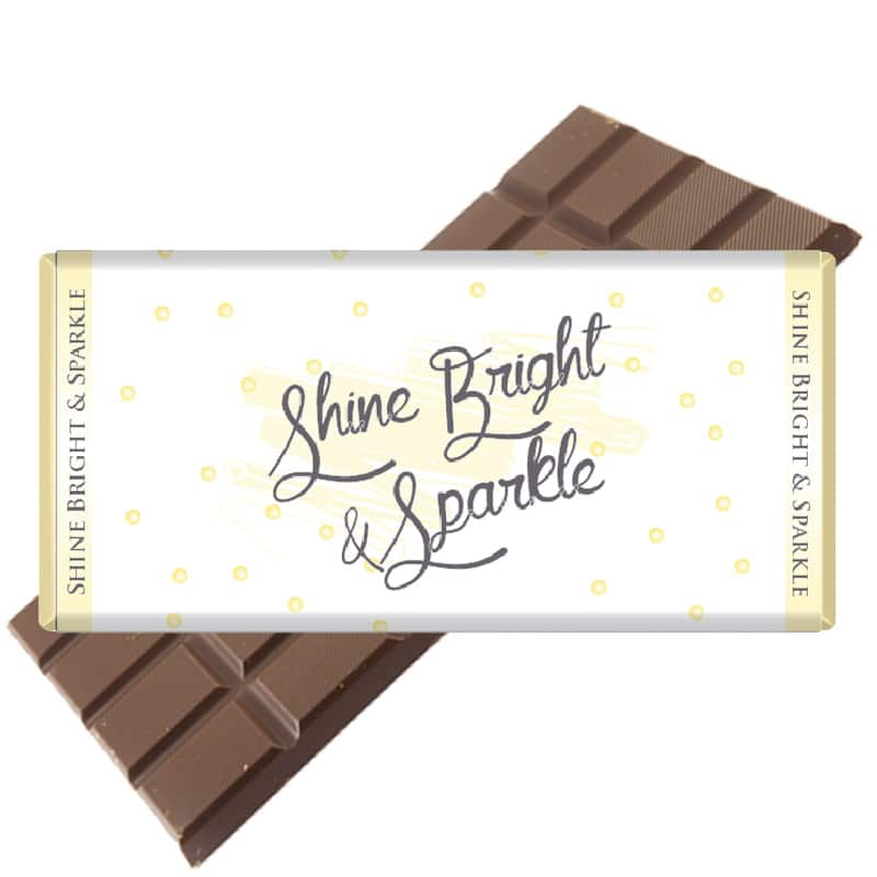 Shine Bright & Sparkle Chocolate Bar