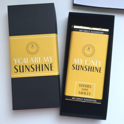 You are my sunshine Chosolate Bar