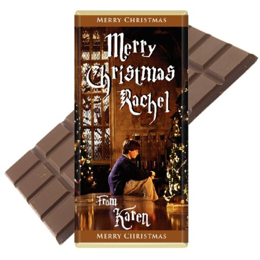 Personalised Harry Potter Chocolate Bar