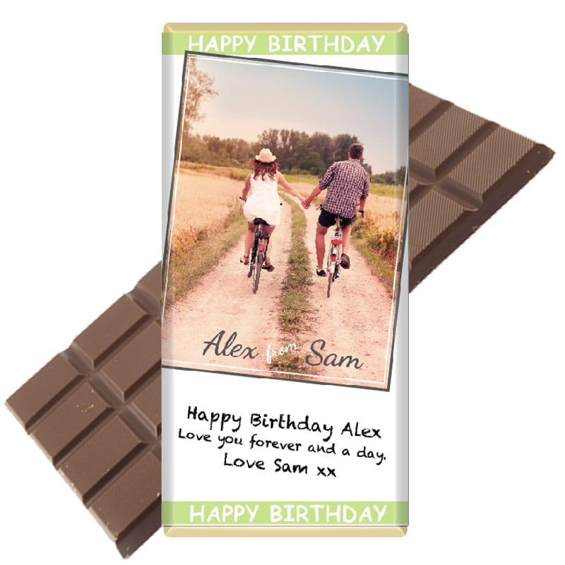 Photo Personalised Chocolate Bar