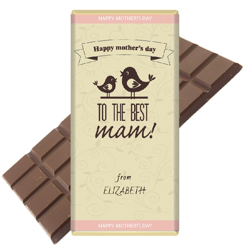 Bird-Design-mothers day Chocolate