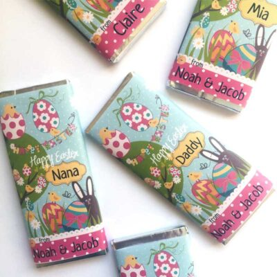 Easter-Chocolate-Bars Personalised
