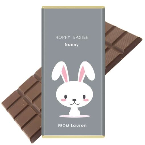 Hoppy-Easter-Personalised Chocolate Bar
