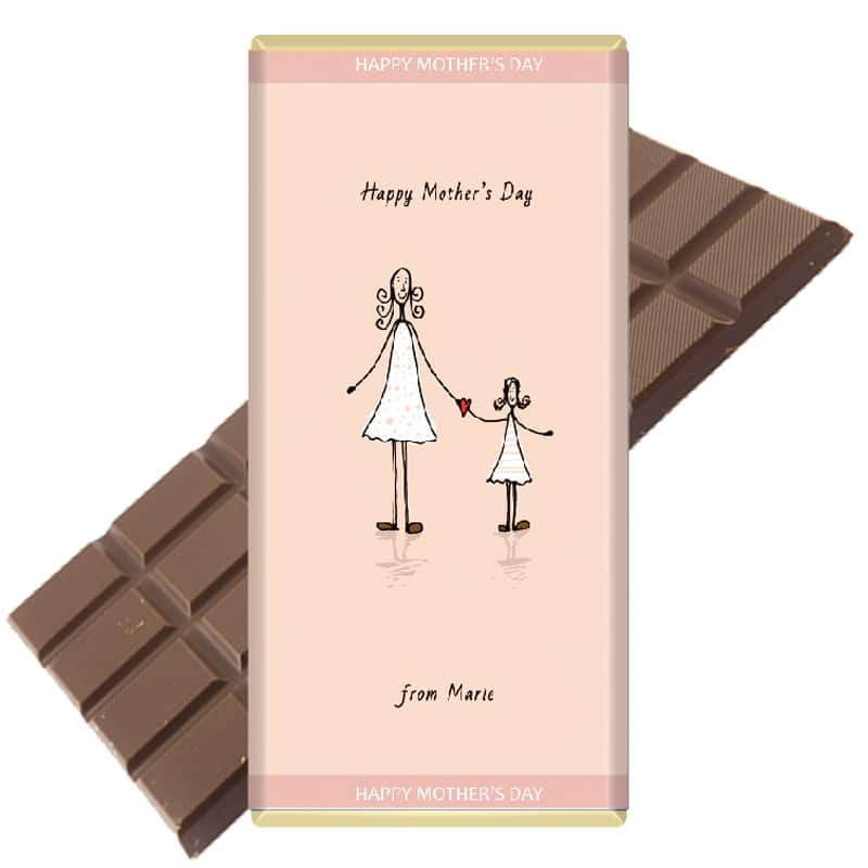 Mother-Daughter-mothers day chocolate