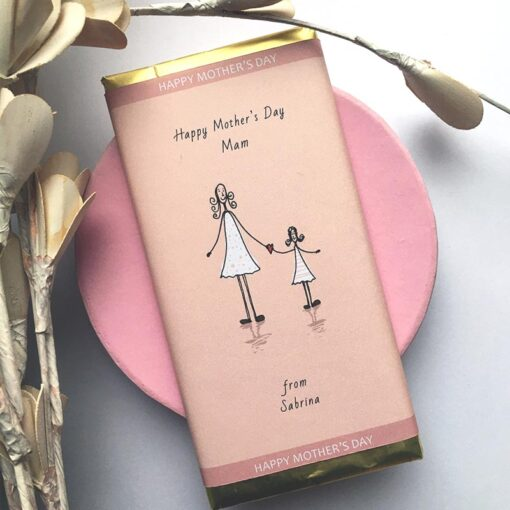 Mothers Day - Personalised Chocolate Bar