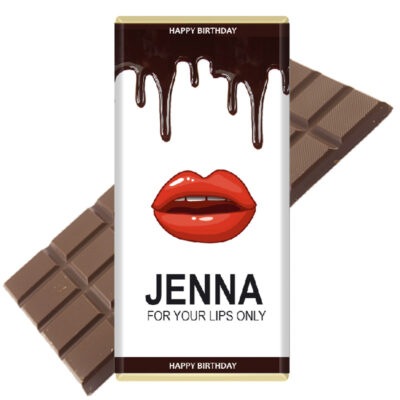 Kylie Kardashian Fan Personalised Chocolate Bar