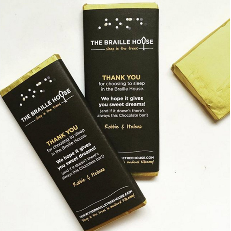 Braille House Chocolate Bars