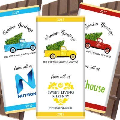 Christmas-corporate chocolate