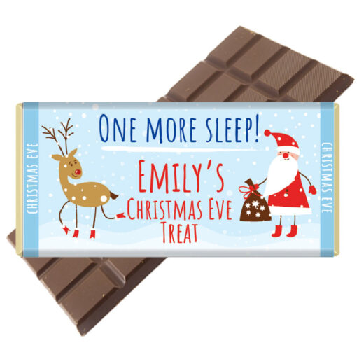 Christmas Eve Chocolate Bar