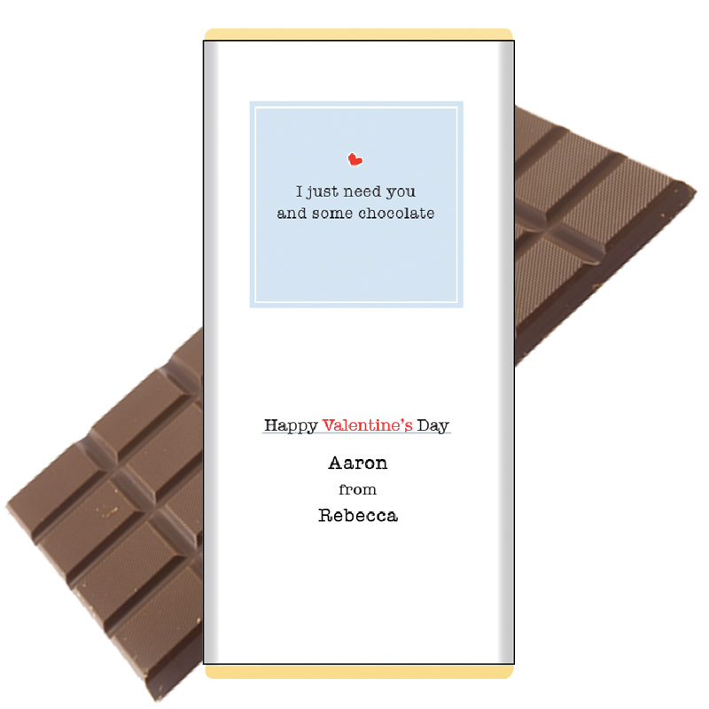 Just-need-you and some chocolate