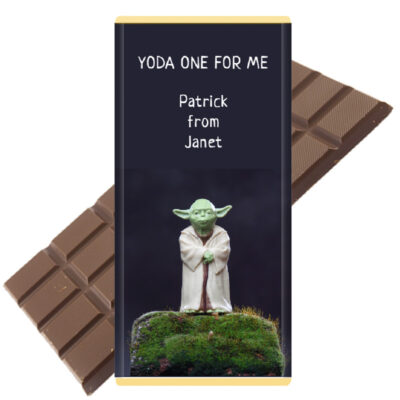 YODA one for me chocolate