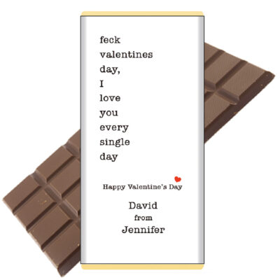 feck-valentines day chocolate bar