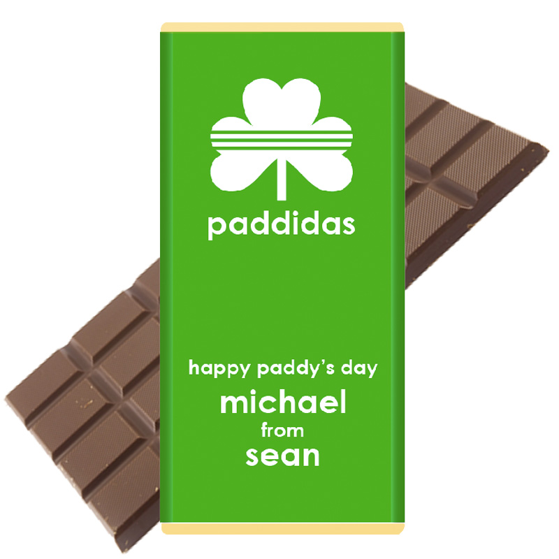 paddidas chocolate bar