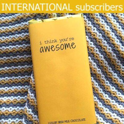 International chocolate subscription