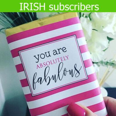 Irish Chocolate Subscription