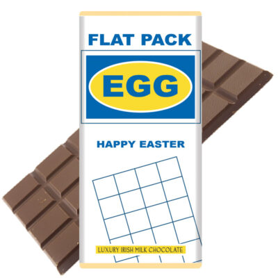 Flat Pack Easter Egg