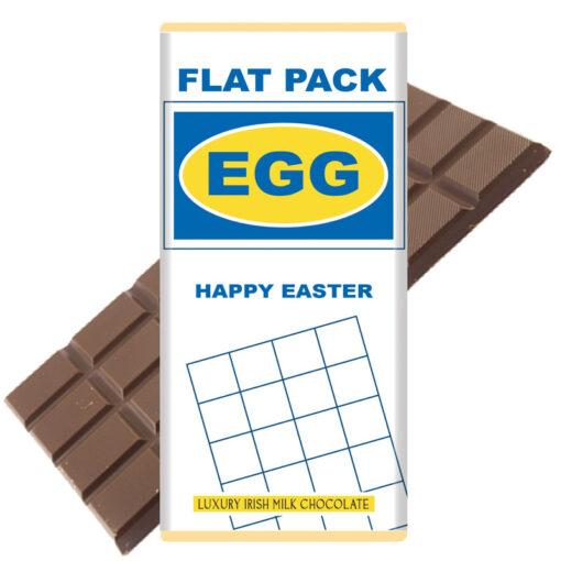 Flat Pack Easter Egg