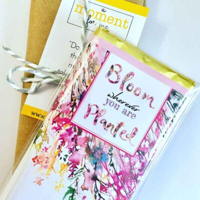 Bloom where you are planted Subscription chocolate bar