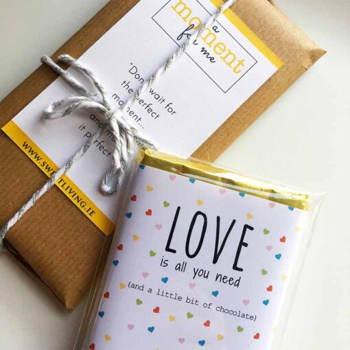 Love is all you need subscription chocolate bar